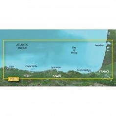 Garmin BlueChart g3 Vision HD - VEU485S - Fuenterrabia to Gijon - microSD-SD