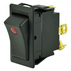 BEP SPST Rocker Switch - 1-LED - 12V - ON-OFF