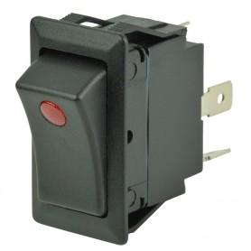 BEP SPST Rocker Switch - 1-LED - 12V-24V - ON-OFF