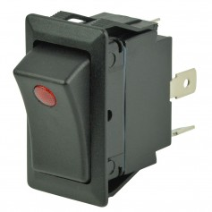 BEP SPST Rocker Switch - 1-LED - 12V-24V - ON-OFF
