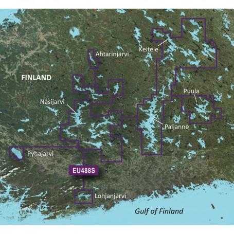 Garmin BlueChart g3 Vision HD - VEU488S - Keitele-Paijanne-Tampere - microSD-SD