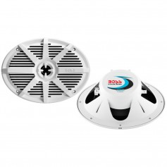 Boss Audio MR692W 6- x 9- 2-Way 350W Marine Full Range Speaker - White - Pair