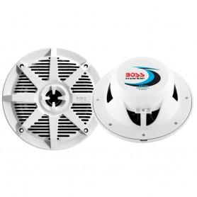 Boss Audio MR52W 5-25- 2-Way 150W Marine Speaker - White - Pair