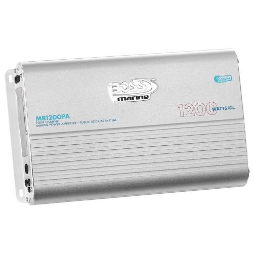 Boss Audio MR1200PA 4-Channel 1200W Full Range Class A-B Amplifier
