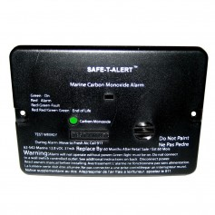 Safe-T-Alert 62 Series Carbon Monoxide Alarm - 12V - 62-542-Marine - Flush Mount - Black