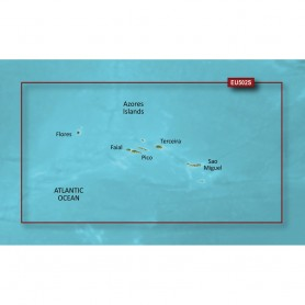 Garmin BlueChart g3 Vision HD - VEU502S - Azores Islands - microSD-SD