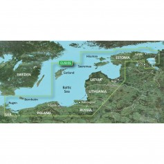 Garmin BlueChart g3 Vision HD - VEU505S - Baltic Sea- East Coast - microSD-SD