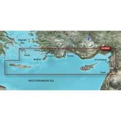 Garmin BlueChart g3 Vision HD - VEU506S - Crete To Cyprus - microSD-SD