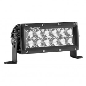 RIGID Industries E-Series PRO 6- Flood LED - Black