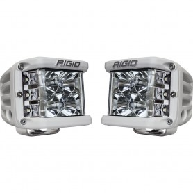 RIGID Industries D-SS PRO Flood LED Surface Mount - Pair - White