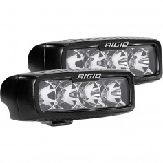 RIGID Industries SR-Q Series PRO Flood LED - Pair - Black
