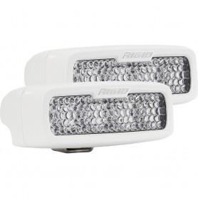 RIGID Industries SR-Q Series PRO Hybrid-Diffused LED - Surface Mount - Pair - White