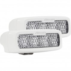 RIGID Industries SR-Q Series PRO Hybrid-Diffused LED - Surface Mount - Pair - White