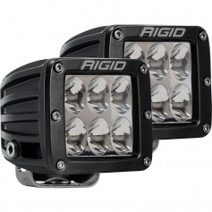 RIGID Industries D-Series PRO Specter-Driving LED - Pair - Black
