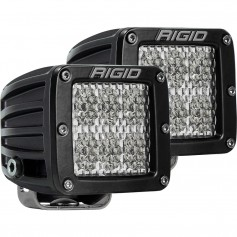 RIGID Industries D-Series PRO Specter-Diffused LED - Pair - Black