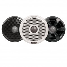 FUSION FR7022 7- Round 2-Way IPX65 Marine Speakers w- 3 Speaker Grilles Provided - -Case of 6-