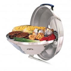 Magma Marine Kettle Charcoal Grill w-Hinged Lid --Case of 3-