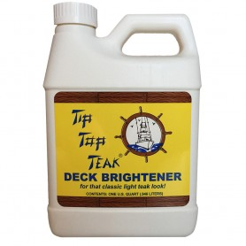 Tip Top Teak Tip Top Teak Deck Brightener - Quart - -Case of 12-