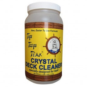 Tip Top Teak Tip Top Teak Crystal Deck Cleaner - Half Gallon -4lbs 3oz- - -Case of 6-