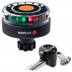 Navisafe Navilight Tricolor 2NM w-Navibolt Base Rail Mount - Black