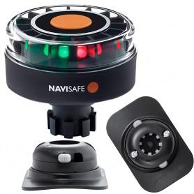 Navisafe Navilight Tricolor 2NM w-Navibolt Base RIB Mount - Black
