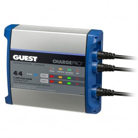 Guest On-Board Battery Charger 8A - 12V - 2 Bank - 120V Input