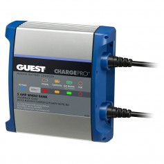 Guest On-Board Battery Charger 5A - 12V - 1 Bank - 120V Input