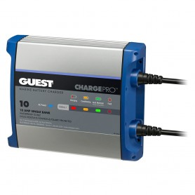 Guest On-Board Battery Charger 10A - 12V - 1 Bank - 120V Input