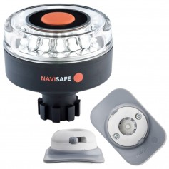Navisafe Navilight 360 2NM w-Navibolt Base RIB Mount - White
