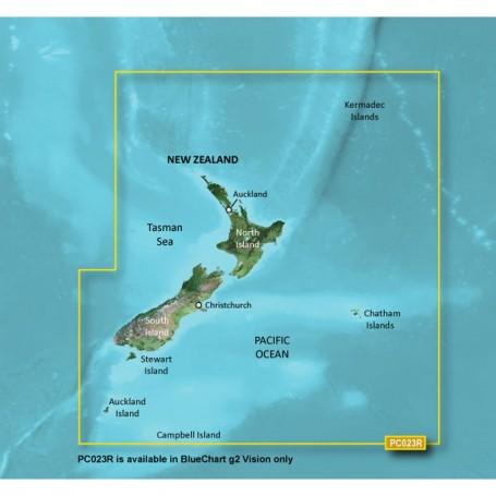 Garmin BlueChart g2 Vision HD - VPC023R - New Zealand - microSD-SD