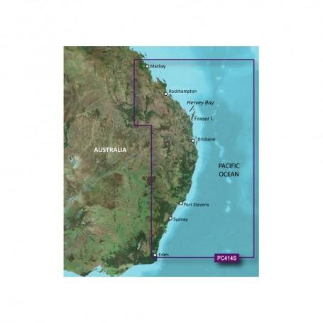 Garmin BlueChart g2 Vision HD - VPC414S - Mackay to Twofold Bay - microSD-SD