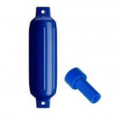 Polyform G-2 Twin Eye Fender 4-5- x 15-5- - Cobalt Blue
