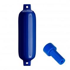 Polyform G-4 Twin Eye Fender 6-5- x 22- - Cobalt Blue w-Air Adapter