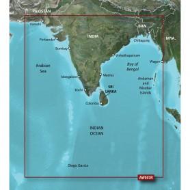Garmin BlueChart g2 Vision HD - VAW003R - Indian Subcontinent - microSD-SD