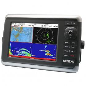 SI-TEX NavStar 10R GPS Chartplotter- Sonar- Radar System w-MDS-12 Radar and internal GPS Antenna