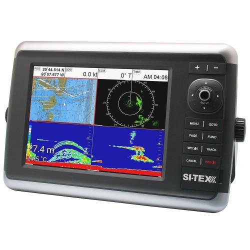 SI-TEX NavStar 12R GPS Chartplotter- Sonar- Radar System w-MDS-12 Radar