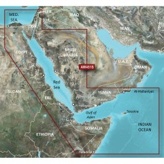 Garmin BlueChart g2 Vision HD - VAW451S - Red Sea - microSD-SD