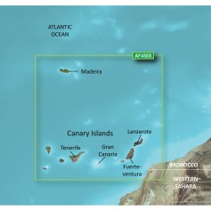 Garmin BlueChart g2 Vision HD - VAF450S - Madeira - Canary Islands - microSD-SD