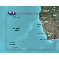 Garmin BlueChart g2 Vision HD - VAF451S - Namibia - Knysna- SA - microSD-SD