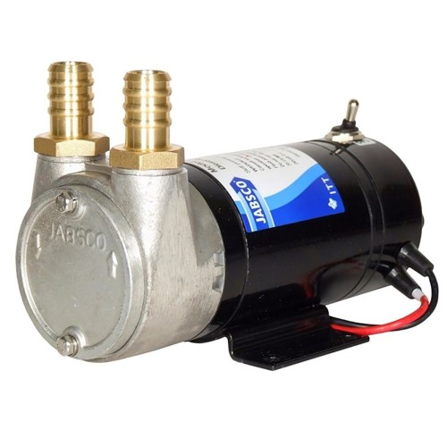 Jabsco Sliding Vane Self-Priming Diesel Transfer Pump - 9 GPM 12V