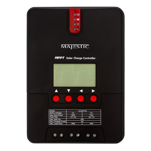 Majestic MPPT Solar Wind Charge Controller - 20 Amp