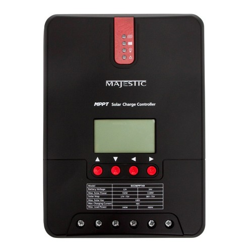 Majestic MPPT Solar Wind Charge Controller - 40 Amp