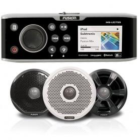 FUSION UD755 Bundle w-6022 Speakers - 6-