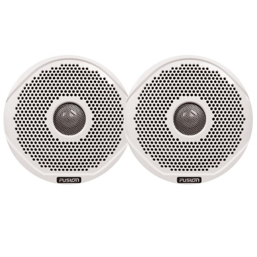 FUSION MS-FR7GW-7 7- Grill Covers - White f- FR Series Speakers