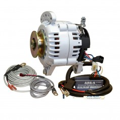 Balmar 60 Series Alternator - Saddle Mount-Dual Foot- Charging Kit - 100A - 12V