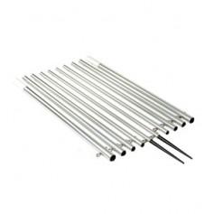 Lee-s 18-5- Bright Silver Standard Poles f- Sidewinder
