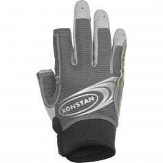 Ronstan Sticky Race Glove - 3-Finger - Grey - XXS