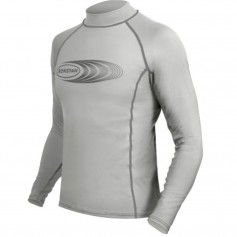 Ronstan Long Sleeve Rash Guard Top - UPF50- - Ice Grey - Medium