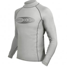 Ronstan Long Sleeve Rash Guard Top - UPF50- - Ice Grey - XXS