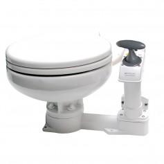 Johnson Pump AquaT Manual Marine Toilet - Super Compact